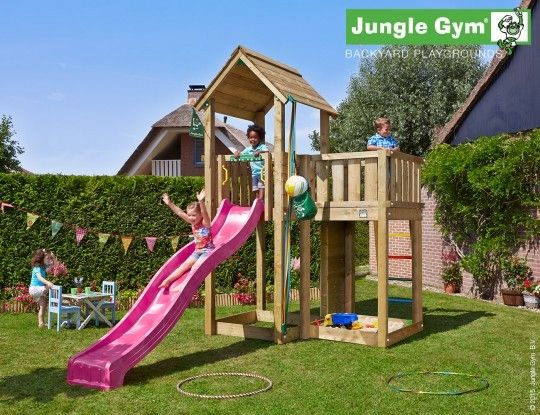 Jungle Mansion - The best playareas are outside!  - Jungle Gym #PinToPlay #JungleGym