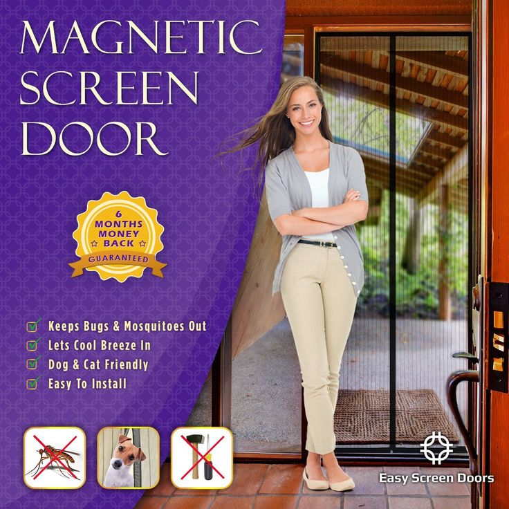 Magnetic Screen Door Sale on Amazon http://www.amazon.com/Magnetic-Screen-Door-Mesh-Curtain/dp/B00LPLHX1M
