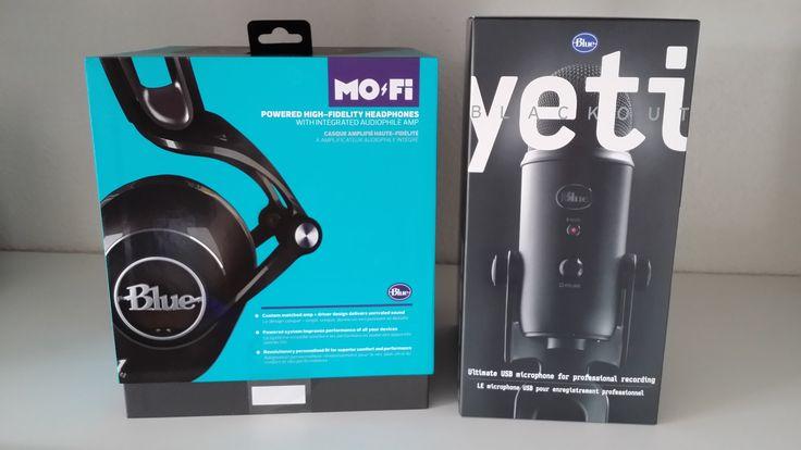 Blue Mo-Fi Headphones & Yeti Blackout Microphone Giveaway