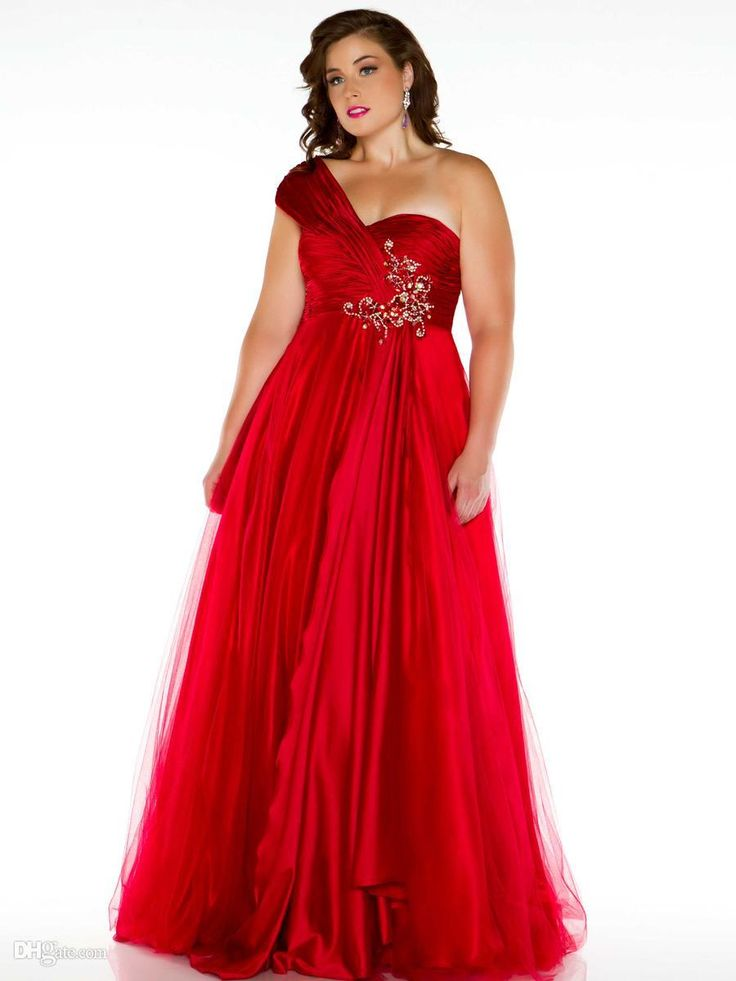 Wholesale Woman Special Dresses - Buy Cassandra Stone Plus Size Princess One-shoulder Sweetheart Beaded Floor-length Formal Ball Gowns Pageant Prom/evening Homecoming Dresses, $135.39 | DHgate