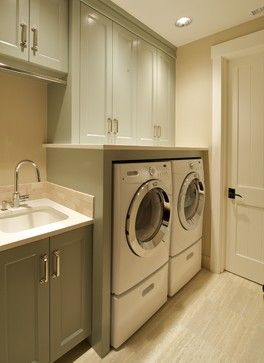 Interiors for a new custom home - traditional - laundry room - portland - Nordby…