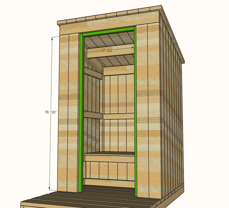 amazing outhouse plans. Ana White  Outhouse Plan for Cabin DIY Projects 32 best images on Pinterest Easy diy projects Desk plans