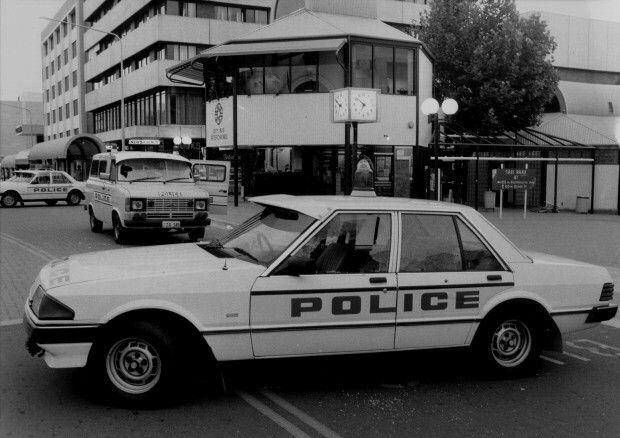 """Historic"" Australian Police cars - Australian Ford Falcon XE"