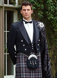 Males in kilt | The Formal Kilt often seen as wedding kilts.