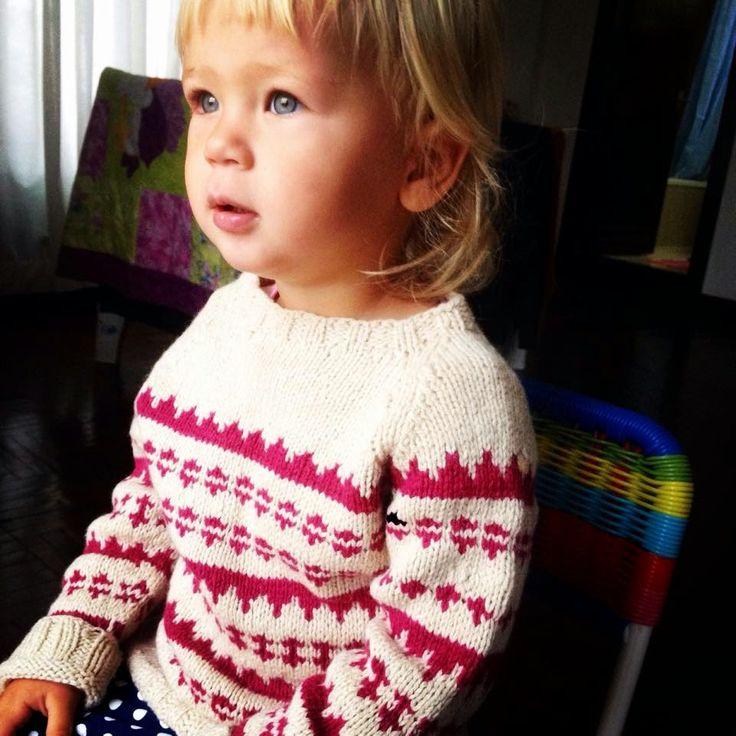 Knitmandu: Olivia i Islændersweater fra Susie Haumann