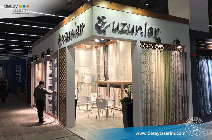 Uzunlar / Heimtextil 2018 Frankfurt - Germany  /  www.detaytasarim.com / #fair_stand #turkey_fairs #stand #exhibition #icvbmember #heimtextil #textile_fair