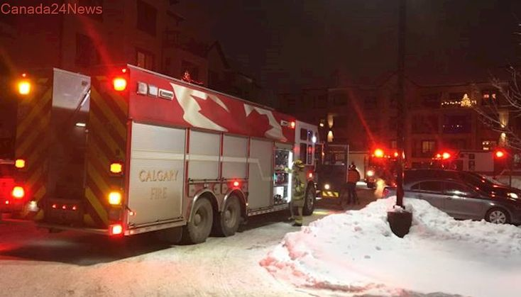 Hundreds of people evacuated from Calgary condo after carbon monoxide leak