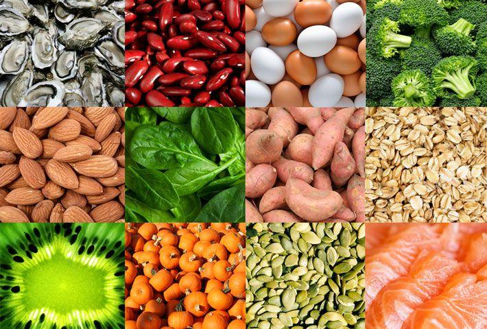 Alimenti che aiutano ad aumentare il testosterone:  Cibi ricchi di Zinco, Beta-carotene, Vitamina C, Vitamina B6, Vitamina D, Vitamina E, Omega-3.  Per saperne di più >>> http://www.piuvivi.com/alimentazione/alimenti-cibi-per-aumentare-testosterone.html