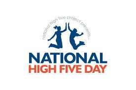 April 19  National High Five Day
