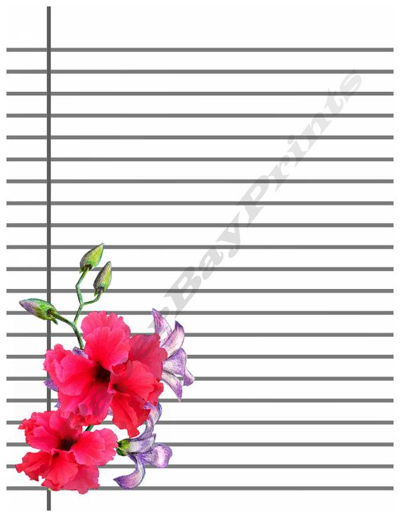 21 best Stationery images on Pinterest Contact paper, Craft - blank sheet of paper with lines