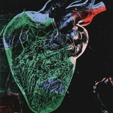 Human Heart, c.1979 (green) Poster by Andy Warhol