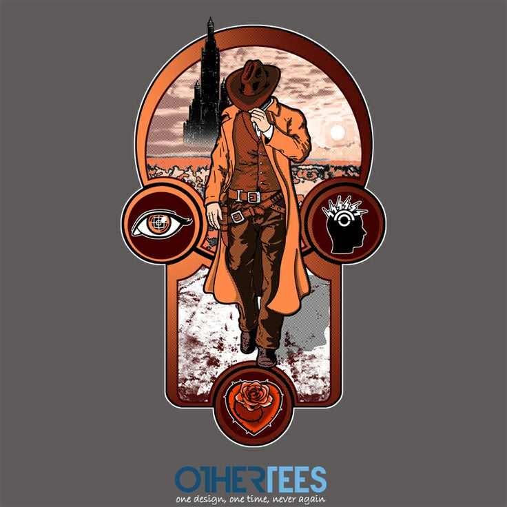 The Gunslinger's Creed by jcmaziu Shirt on sale until 14 March on http://othertees.com #darktower #gunslinger