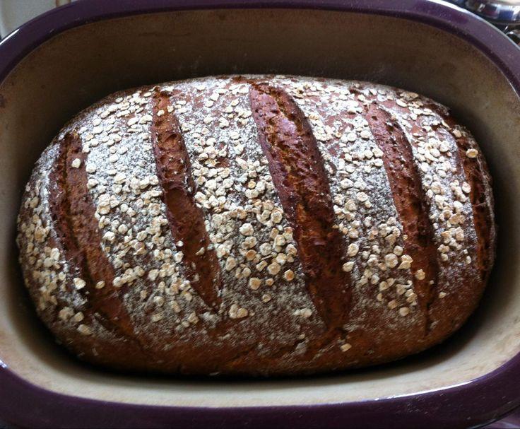 Rezept Zahlinger Vitalbrot - Dinkel-Roggen-Mischbrot von Thermi-TPC Bine - Rezept der Kategorie Brot & Brötchen