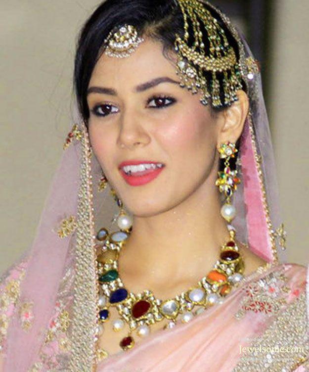 Mira Rajput wedding jewellery by Shrihari Diagems jewellers