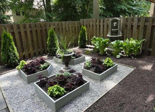 Landscaping Ideas For Shady Side Of House : Backyard garden ideas retreat shady yard backyards low