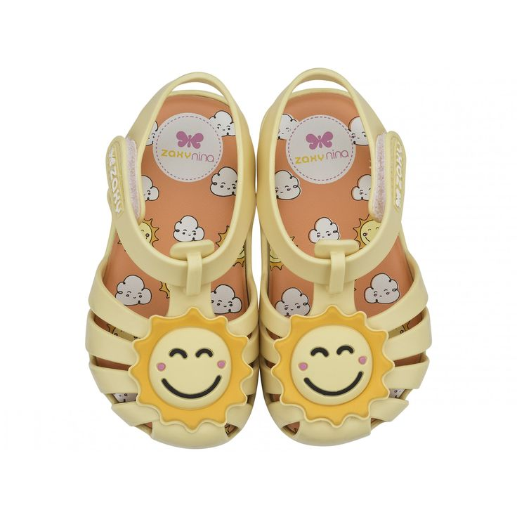 Lemon Sun Zaxy Baby Shoes