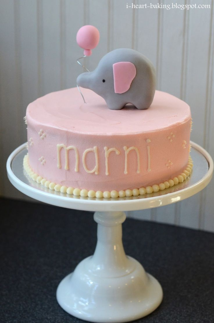 Baby Shower Cakes. Elephant ...