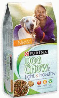 Free Purina Dog Chow Sample Of Light Amp Healthy Dog Food