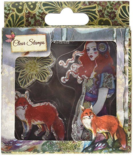 Santoro Willow le Guide Tampon transparent