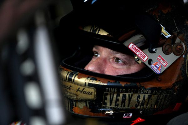 Tony Stewart Photos Photos - Tony Stewart, driver of the #14 Always a Racer/Mobil 1 Chevrolet, sits in his car during practice for the NASCAR Sprint Cup Series Ford EcoBoost 400 at Homestead-Miami Speedway on November 19, 2016 in Homestead, Florida. - Homestead-Miami Speedway - Day 2