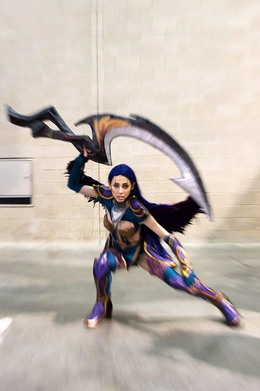 Dark Valkyrie Diana League of Legends Cosplay