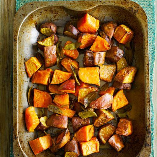 Zoete aardappel met salieboter en nog meer lekkere simpele jamie gerechten