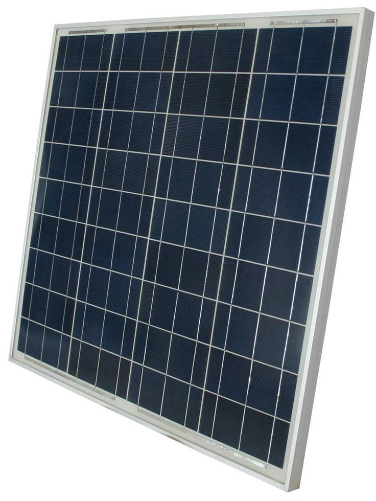 High Quality 60W Polycrystalline 12 Volt Solar Panel for Battery Charger - Boat RV Gate Off-Grid