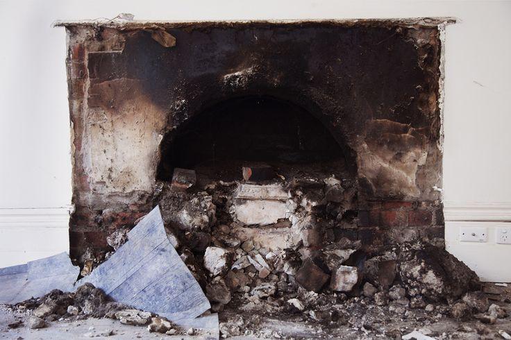 "Jana Maré  'Around the House' ""Burnt"" -Edmund Pearce Gallery"