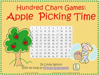Primary Inspiration: Hundred Chart Games: Apple Picking Time