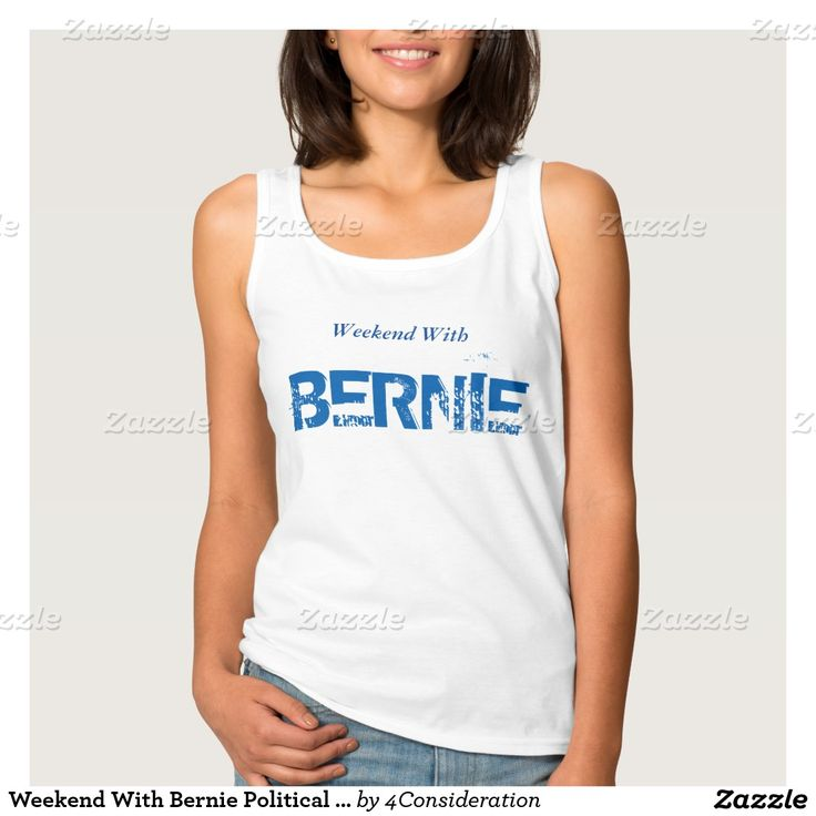 Weekend With Bernie Political Statement T-Shirt