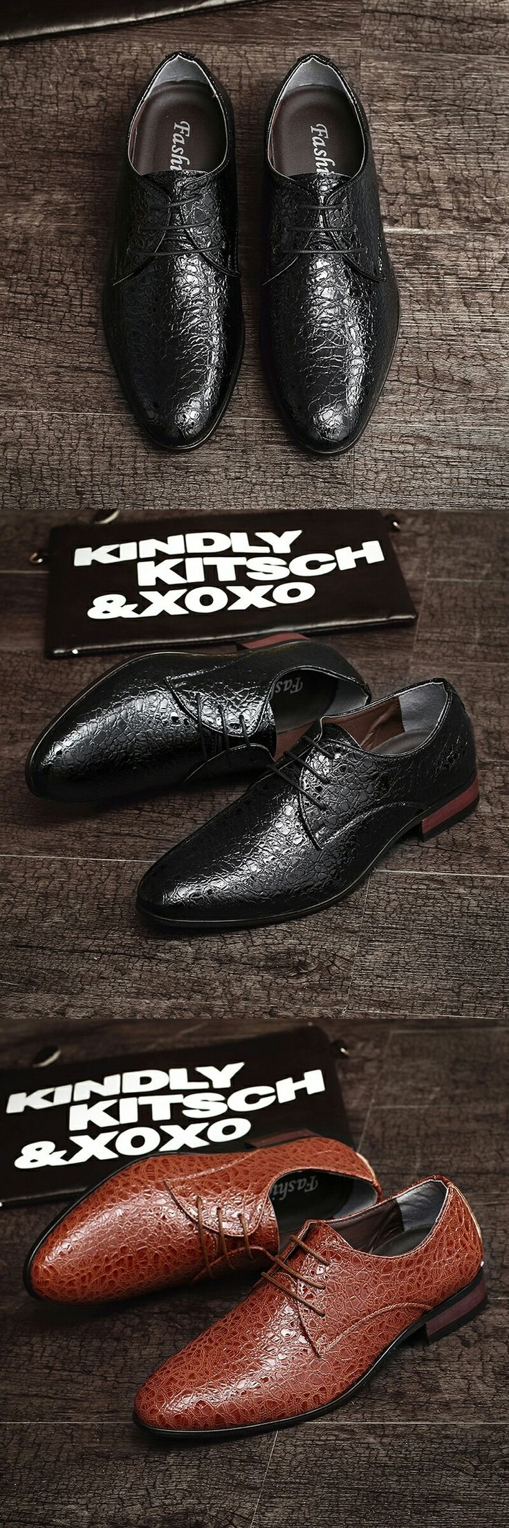New Arrival Spring Luxury Brand Men Oxfords Shoes High Quality Business Derby Dress Shoes Calcado Masculino Wedding Shoes
