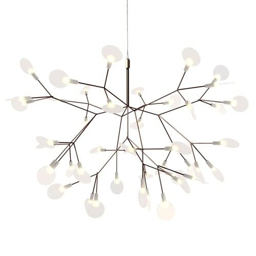 The Heracleum Small Pendant Light is a decorative LED fixture inspired by the Heracleum Plant. http://www.ylighting.com/moooi-heracleum-small-pendant-light.html