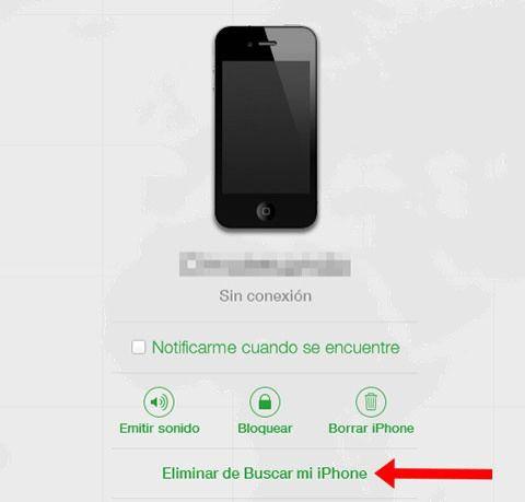 Cómo liberar remotamente un iPhone bloqueado con iCloud