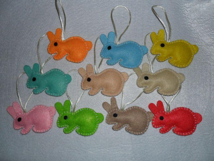 coelhos pingentes