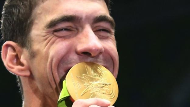 Michael Phelps won his 23rd Olympic gold in what looks like being his final Games, as Britain took silver in the men's 4x100m medley relay.  Phelps, 31, secured his fifth gold of Rio 2016 when he teamed up with Ryan Murphy, Cody Miller and Nathan Adrian to set a new Games record of three minutes 27.95 seconds.  Britain finished 2.71 seconds adrift, with Australia in third.