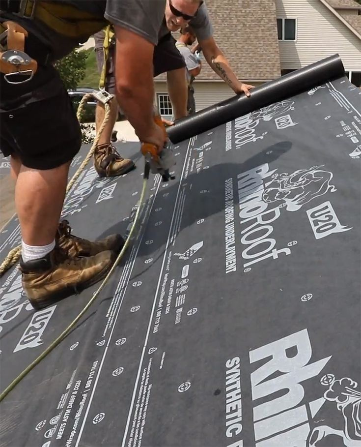 Correct Underlayment For A Metal Roof Michigan Metal Roof Roof Installation Underlayment
