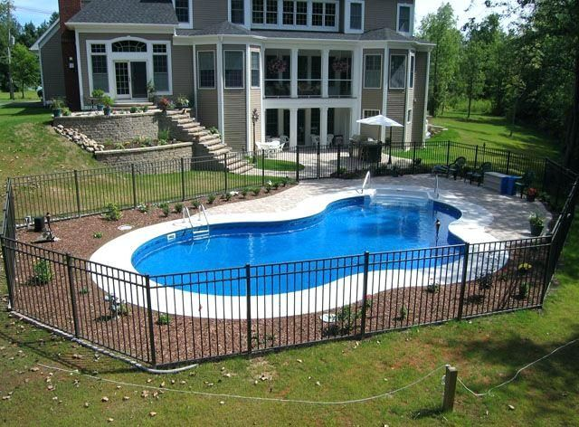 27 Best Small Inground Pool Ideas In 2019 Inground Pool