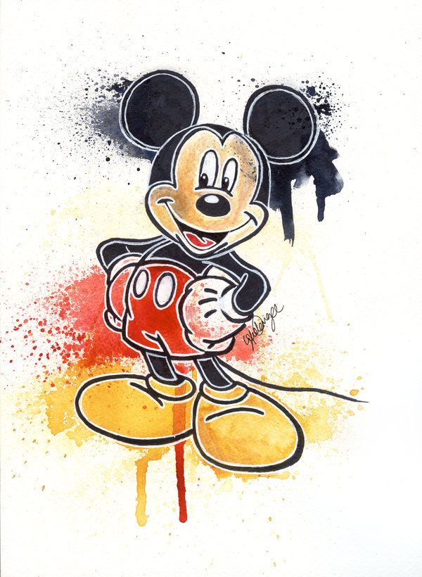 Mickey Mouse by LukeFielding.deviantart.com on @deviantART