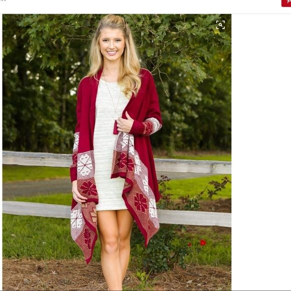 SUNDAY'S DEALRed Dress Boutique Cardigan Love this cardigan just don't have nothing to pair it with. Red Dress Boutique  Sweaters Cardigans