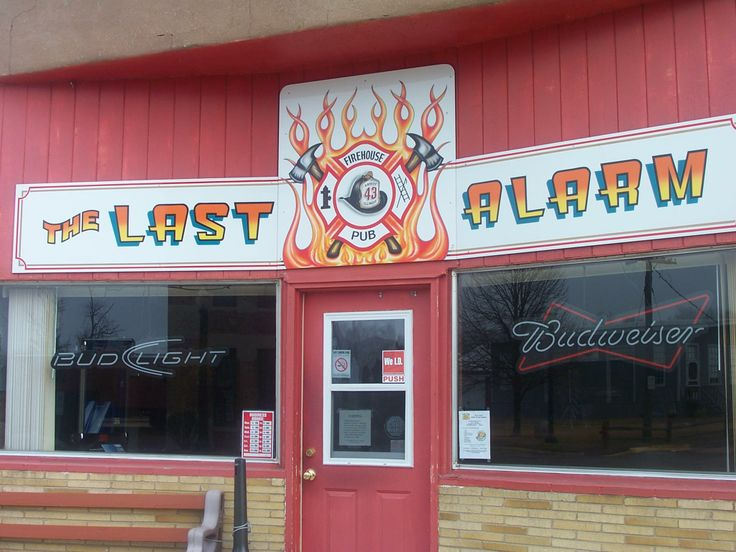 The Last Alarm Firehouse Pub, Amboy, IL