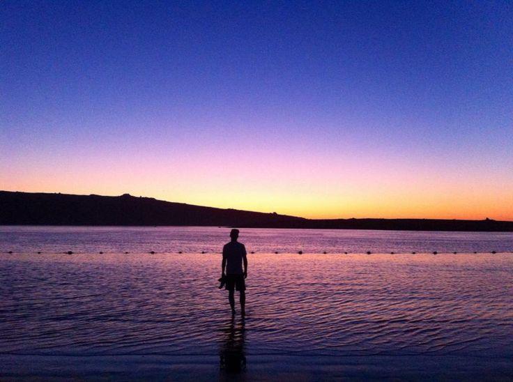 Sunset Langebaan, South Africa