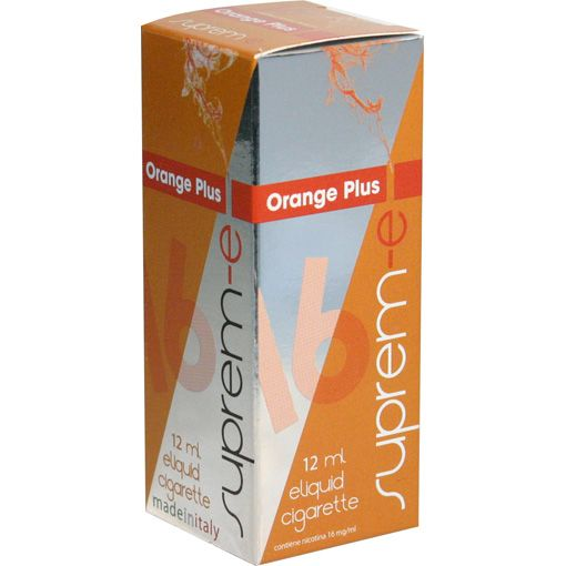 """ORANGE PLUS - Orange to vape, fresh, full and perfumed, reminding  the heat of the Sun even during the wintertime, with that """"plus"""" which make it characteristic, unique and refined. 12 ml Line """"I Dodici"""" - FLAVOURS & FRUIT FLAVOURED E-liquids for e-cigarette by Suprem-e  http://www.suprem-e.com"""