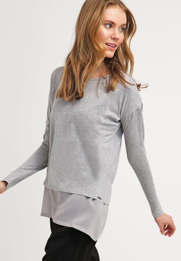 BOSS Orange TABOW - Long sleeved top - medium grey for £100.00 (13/03/16) with free delivery at Zalando