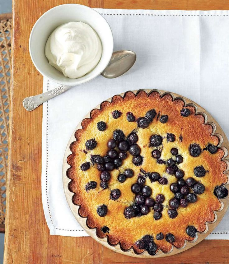 Orange & blueberry cake by Margaret Fulton | Cooked