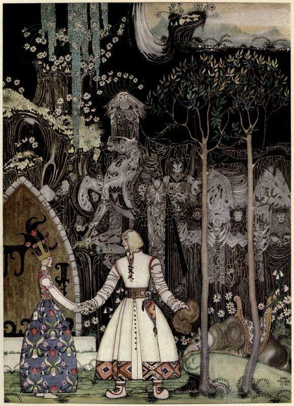 Kay Nielsen's Stunning 1914 Illustrations of Scandinavian Fairy Tales | Brain Pickings