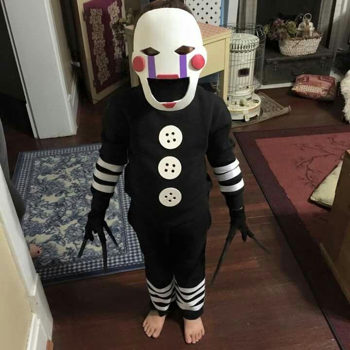 Fnaf marionette diy halloween costume