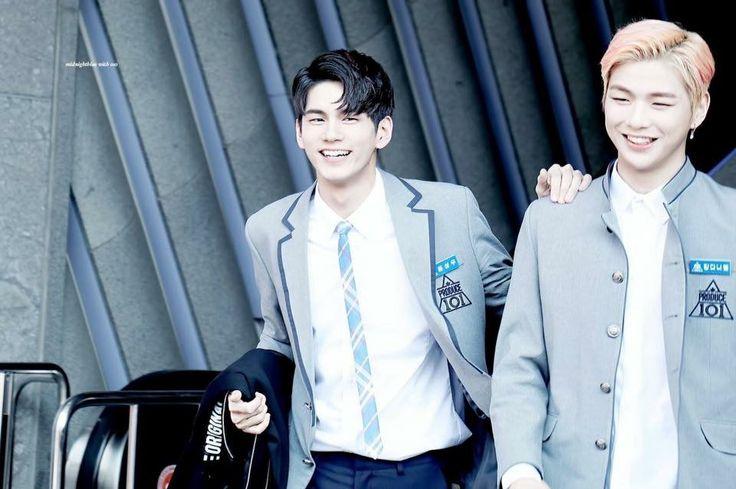 Kang Daniel - Ong Seong Woo No.5- No.4 Produce 101 ss2