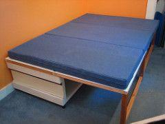 Deja Vu Construction: Desk and Storage From Old Doors