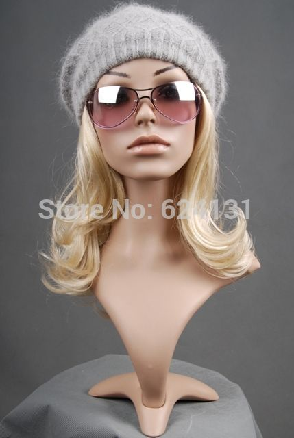 Adjustable mannequin head Realistic female mannequin head  for hat wig glass headset and jewelry display