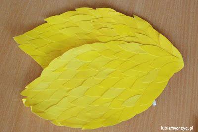 Przebranie kaczki (nr 3) - papierowa skrzydła (całość w wersji DIY)